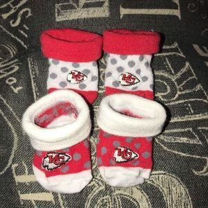 Other - 💥3for$15 KC Chiefs newborn socks